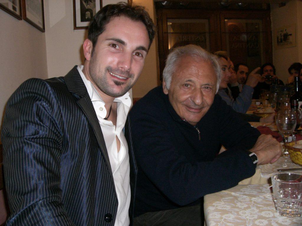 Con il Maestro Mogol
